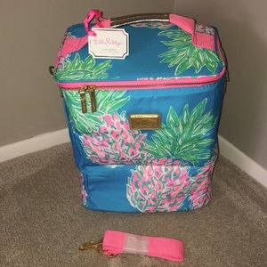 Lilly Pulitzer Wine Beach Cooler Tote Bag NWT